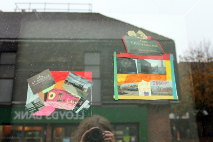 Postcards created with pupils from Stephen Freeman School.
